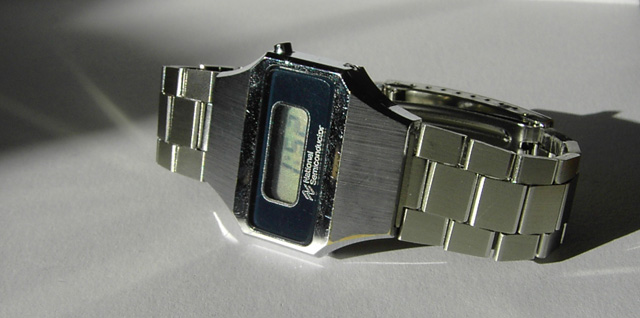National Semiconductor (Novus) LCD watch