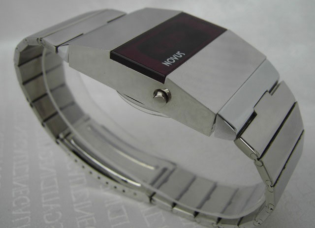 Novus LED long flat watch