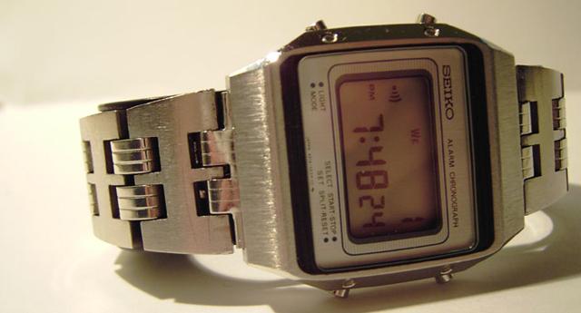 Seiko LCD watch