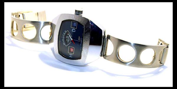 Sicura jump hour watch