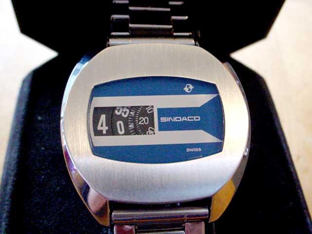 Sindaco jump hour watch