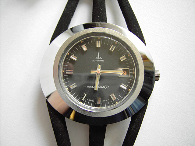Spaceman 7z watch by Andre Le Marquand in black