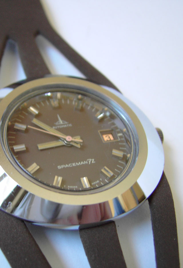 Spaceman 7z watch by Andre Le Marquand in brown