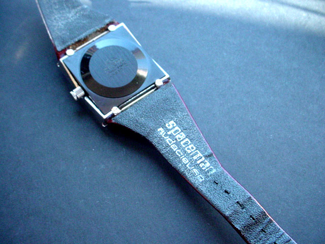 Spaceman Watch - designed by Andre Le Marquand