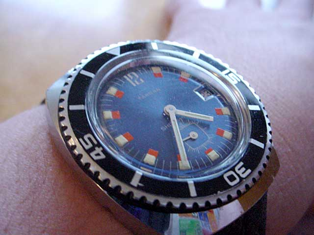 Swedish diver's watch