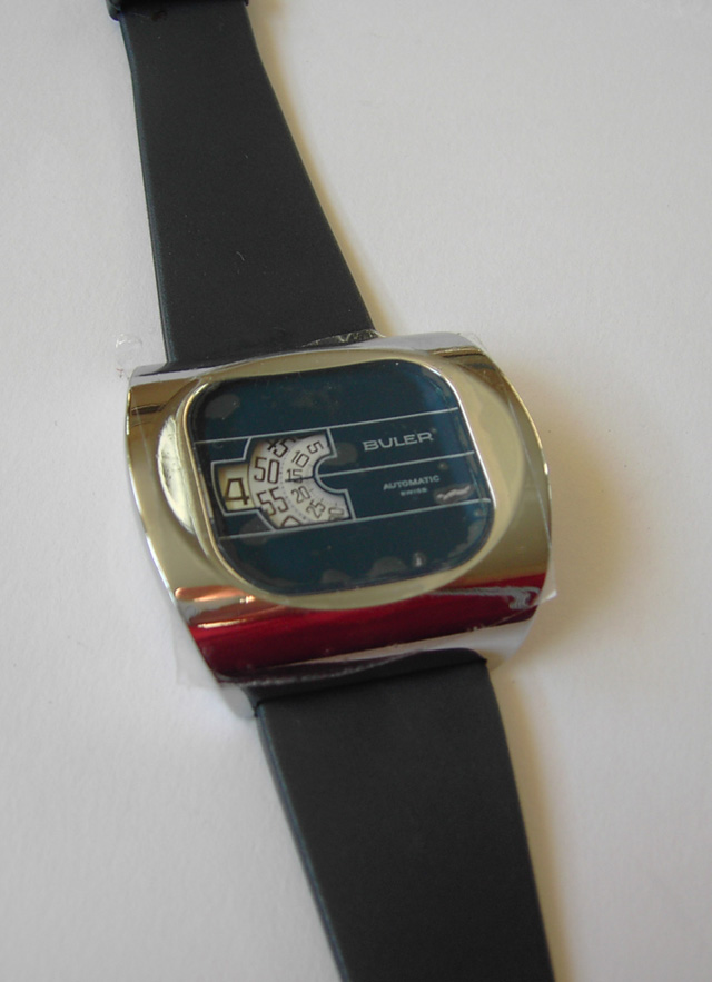 Buler automatic kinetic watch