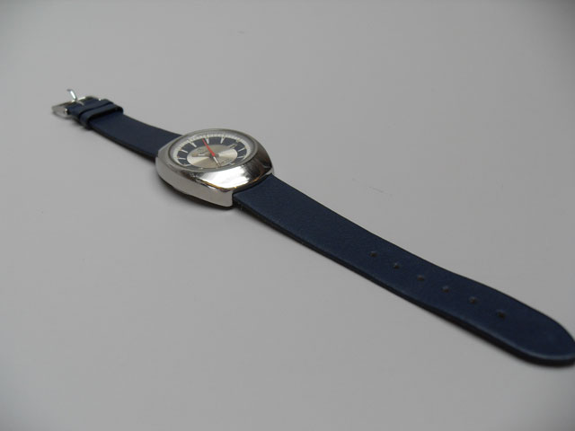 Lanco blue watch