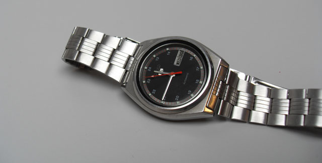 Classic 70's Seiko retro watch