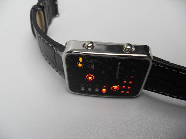 Japanese LED Retro lightshow watch
