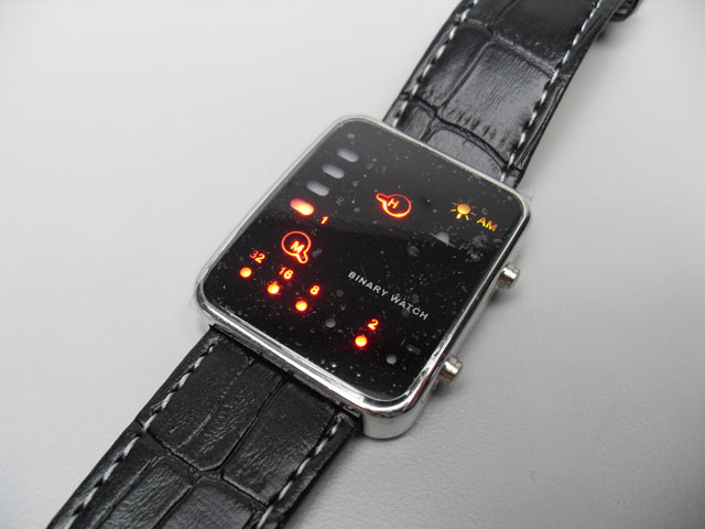 Japanese LED Retro lightshow watch