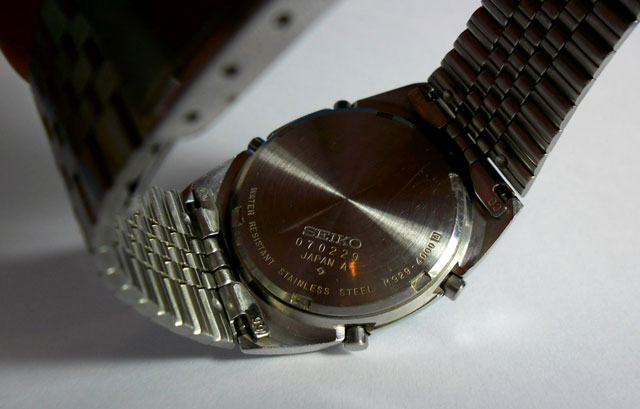 Seiko LCD watch