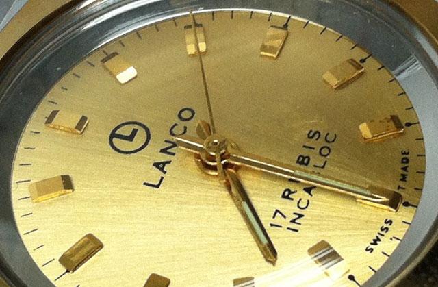 Lanco vintage watch