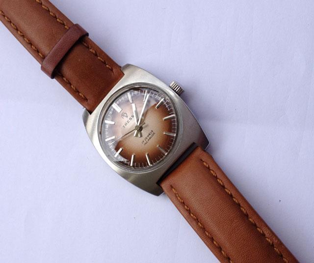 Tressa brown retro watch