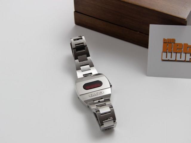 The Bulova LED Big Block watch